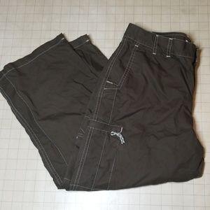 Columbia Sportswear Capri Cargo Pants size 10